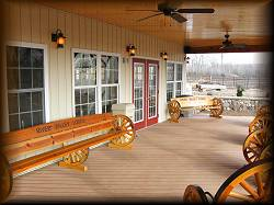 The Large Inviting Front Porch