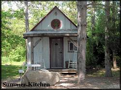 The vintage Summer Kitchen Cabin